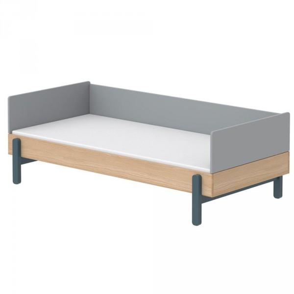 Flexa Popsicle Tagesbett Eiche Blaubeere 90 x 200 cm