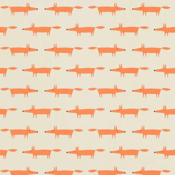 Scion Guess Who Tapete Füchse orange auf kiesel