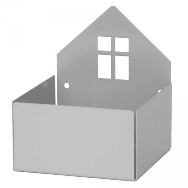 Roommate Wandregal Haus grau