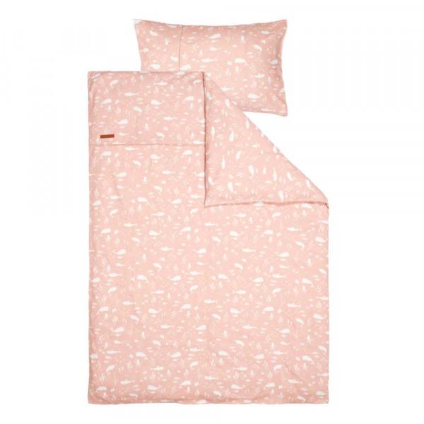 "Little Dutch Kinderbettwäsche ""Ocean pink"" 100 x 140"