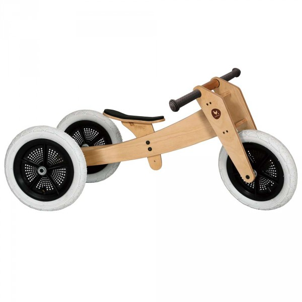 Wishbone Dreirad / Laufrad 3 in 1 natur