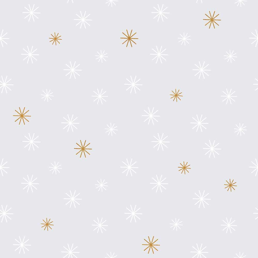 lilipinso vlies tapete grau mit sternchen in gold wei bei. Black Bedroom Furniture Sets. Home Design Ideas
