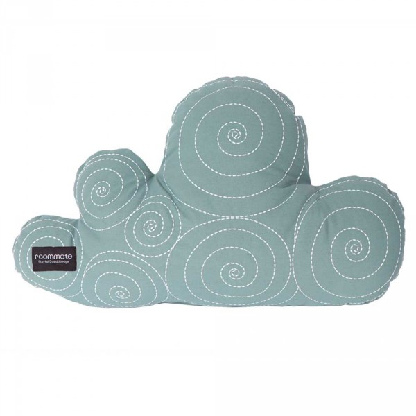 Roommate Dekokissen Wolke seegrün