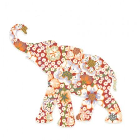 Inke Babyelefant Exotic rot