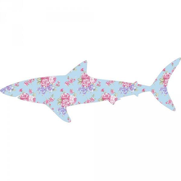 Inke Tapetentier Hai Muster 217