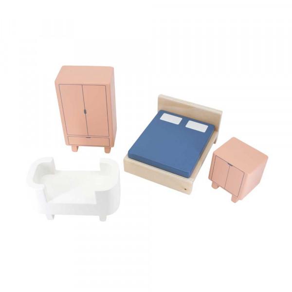 Sebra Schlafzimmer Zubehör Puppenhaus Holz
