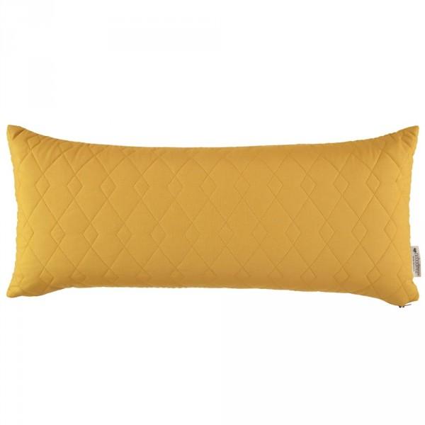 "Nobodinoz Kissen rechteckig ""Monte Carlo"" farniente gelb"