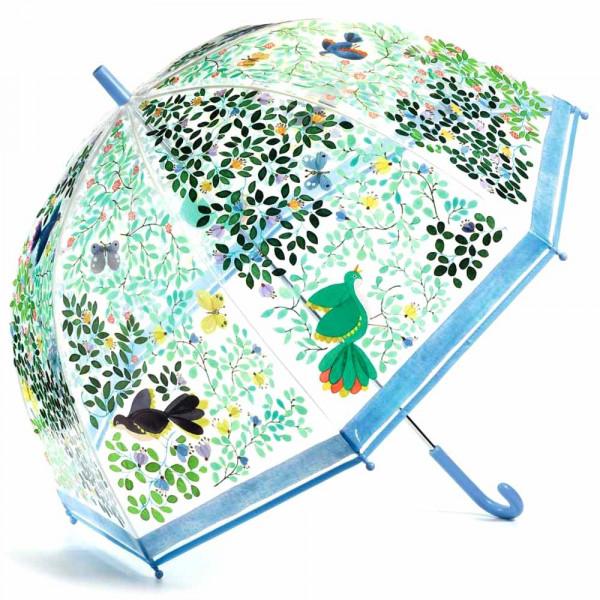 Djeco Kinder Regenschirm wilde Vögel