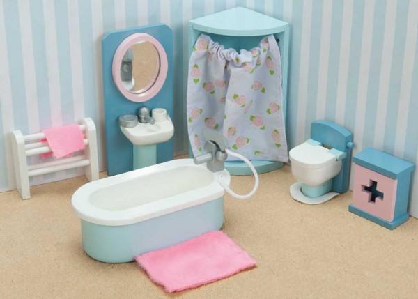 Le Toy Van Puppenhaus Zubehör Badezimmer Daisy Lane