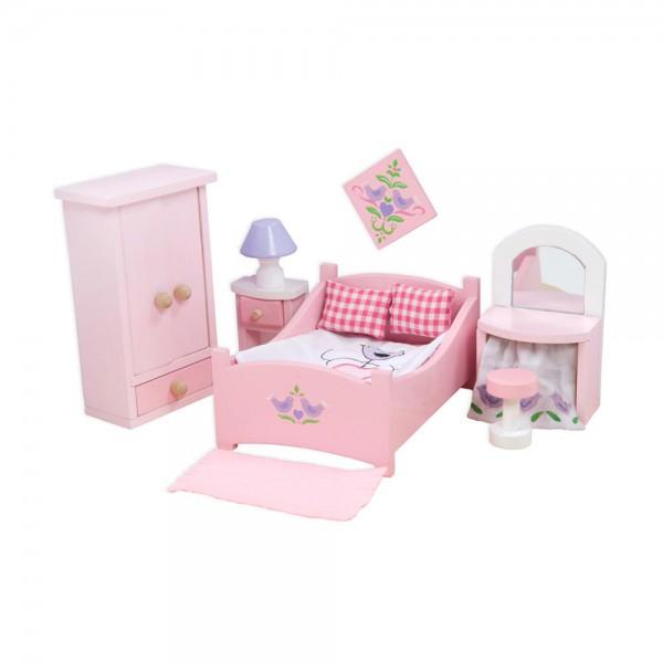 Le Toy Van Puppenhaus Zubehör Schlafzimmer Sugar Plum