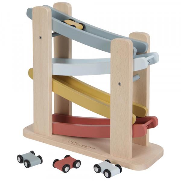 Little Dutch Holz Rennbahn