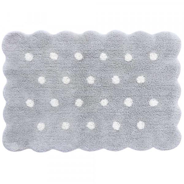 Lorena Canals waschbarer Teppich Keks grau Mini