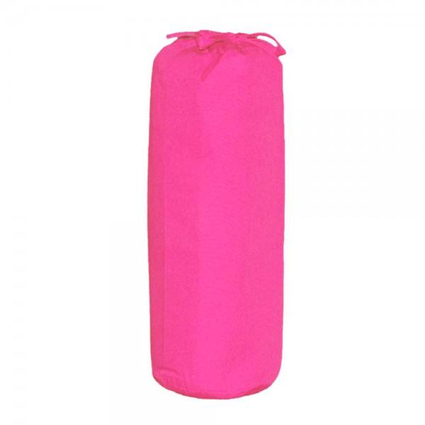 Taftan Spannbettlaken 70 x 140 cm uni pink