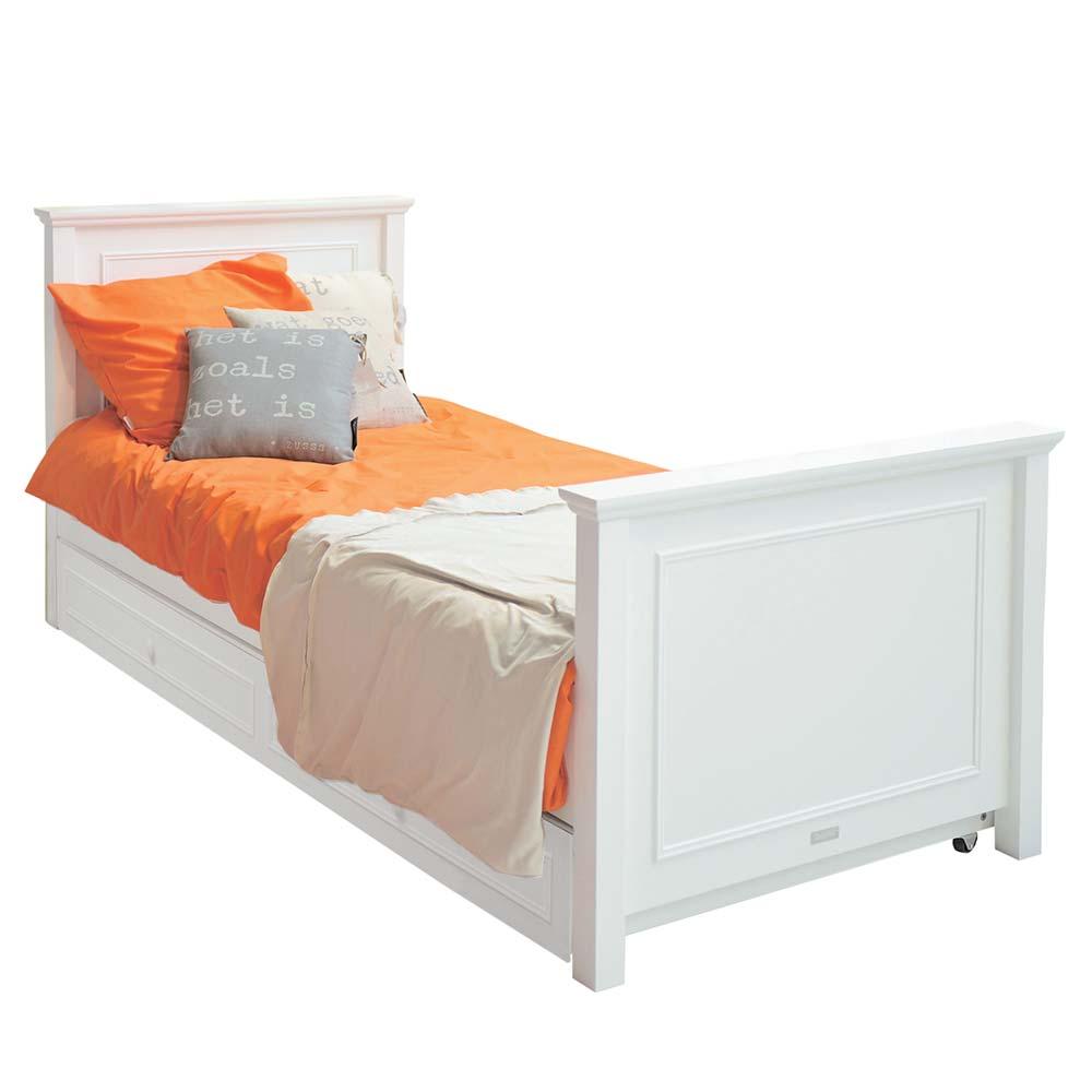 bopita charlotte kinderbett 90 x 200 cm weiss bei kinder r ume. Black Bedroom Furniture Sets. Home Design Ideas