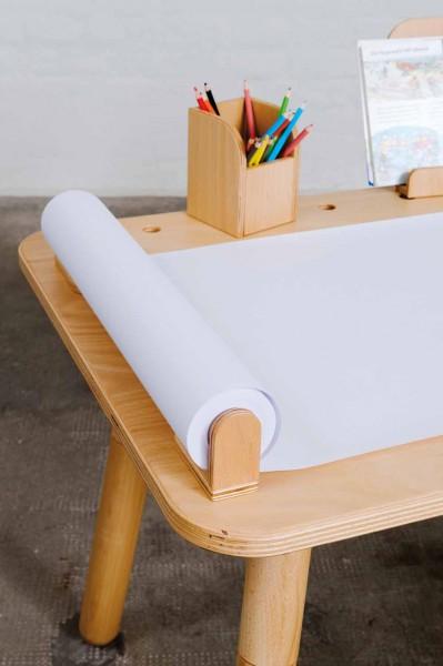 Pure Position Growing Table Aufnahme Zeichenrolle Buche