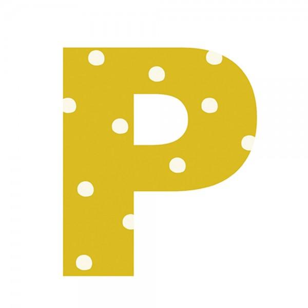 Lilipinso Sticker Buchstabe gepunktet P