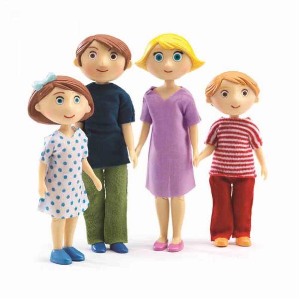 Djeco Zubehör Puppenhaus Familie von Gaspard und Romy