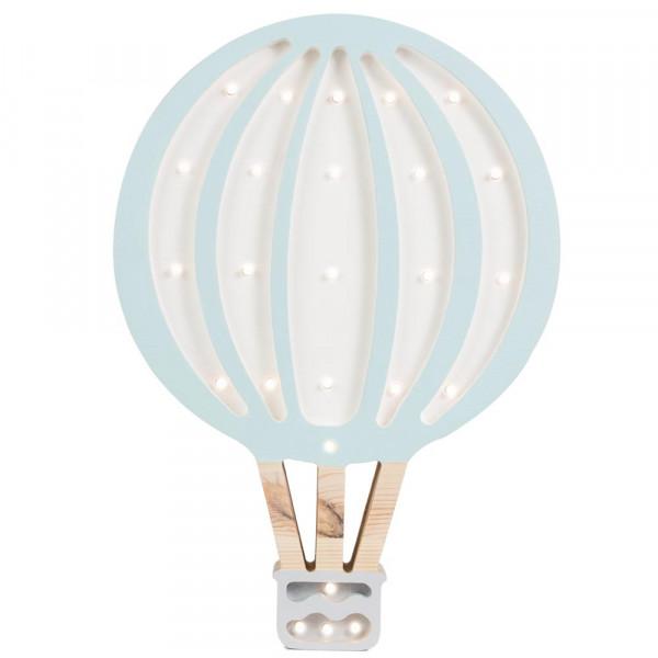 little lights Led Deko Kinderlampe Heissluftballon senfgelb