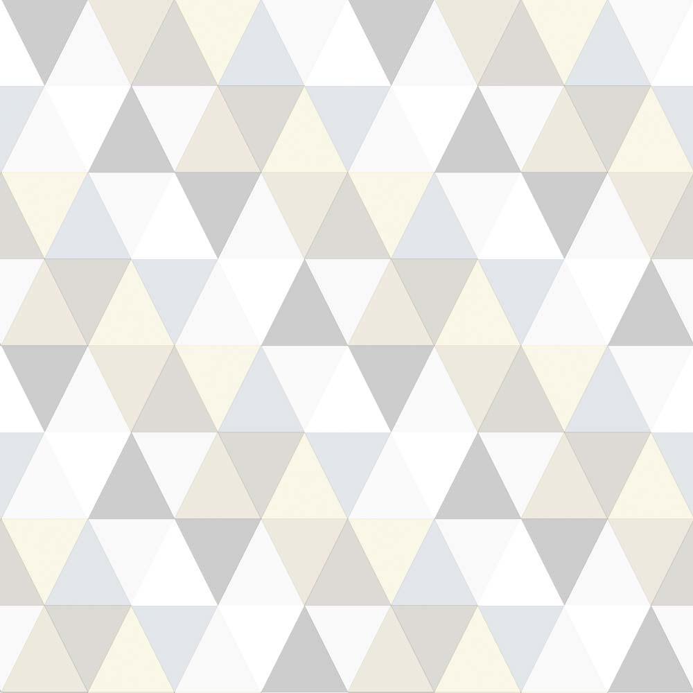 Rasch Textil Everybody Bonjour Tapete Dreiecke Grau Silber Bei Kinder Raume