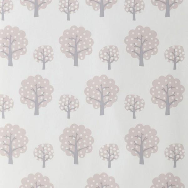 Ferm Living Tapete Bäume rosa