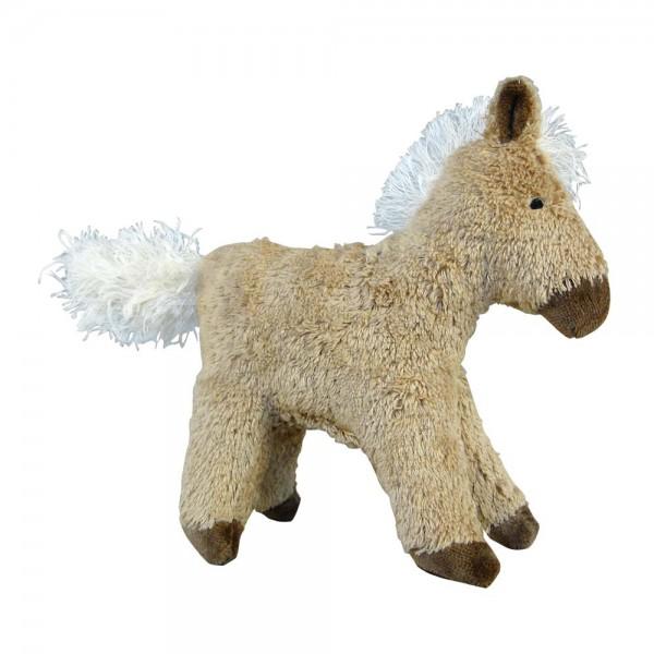 Senger Kuscheltier Tierkind Pferd beige
