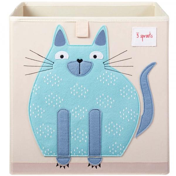 3 Sprouts Spielzeugkorb Katze