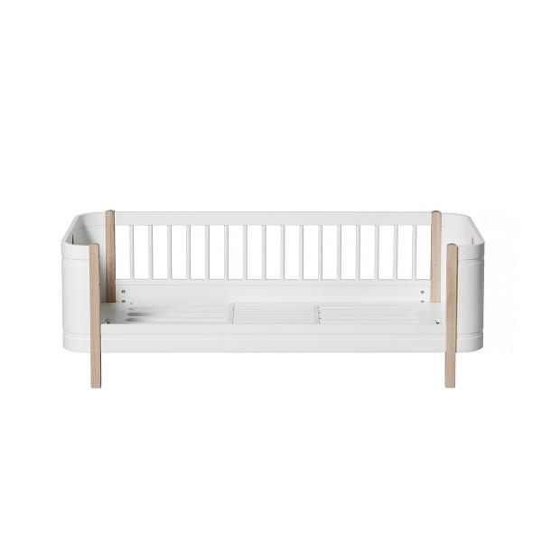 Oliver Furniture Wood Mini+ Umbauset Basic und Geschwister-Set zu 2 Juniorbetten Eiche