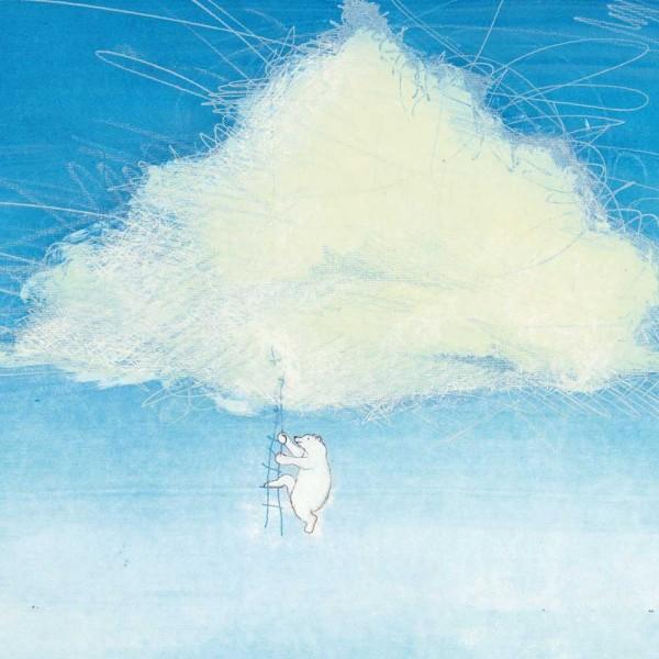 Kek Amsterdam Kinderposter Eisbär & Wolke