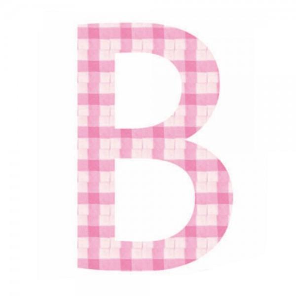 Lilipinso Sticker rosa Buchstabe b