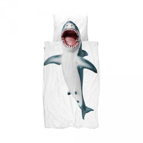 Snurk Bettwäsche Hai 135 X 200 Bei Kinder Räume