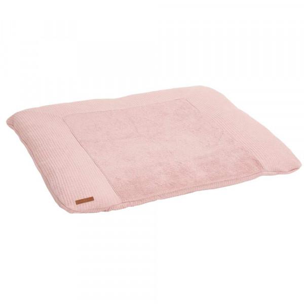 "Little Dutch Wickelauflagenbezug uni rosa ""Pure Pink"""