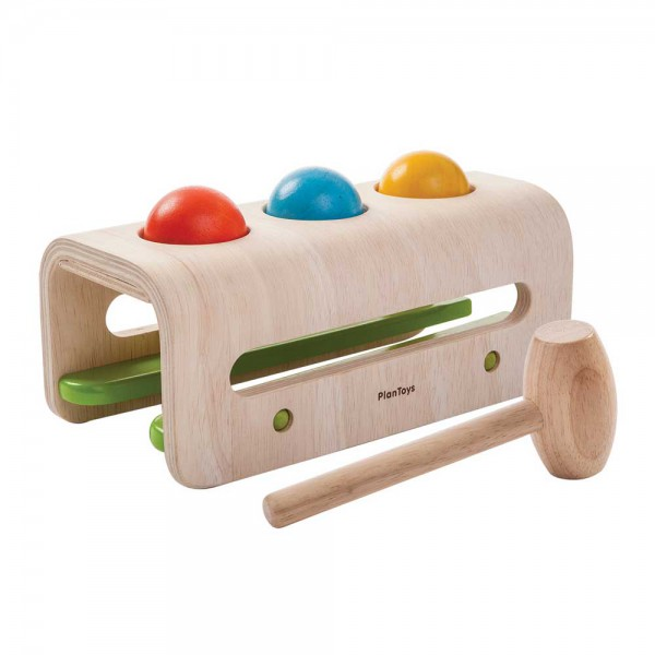 Plan Toys Hammerspiel Kugeln Holz