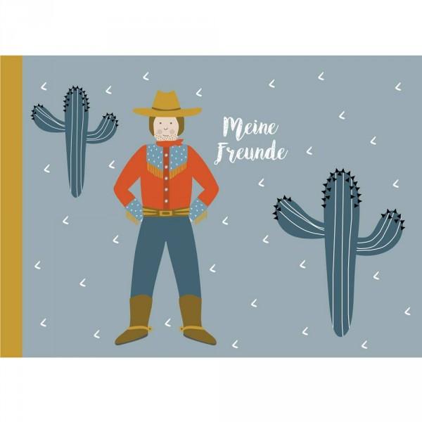 Kindergarten Freundebuch Cowboy Ava & Yves