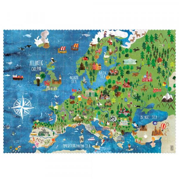 Londji Kinder Puzzle Suchspiel Discover Europe