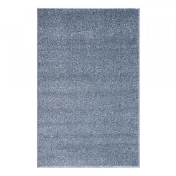 Livone Kinderteppich uni blau