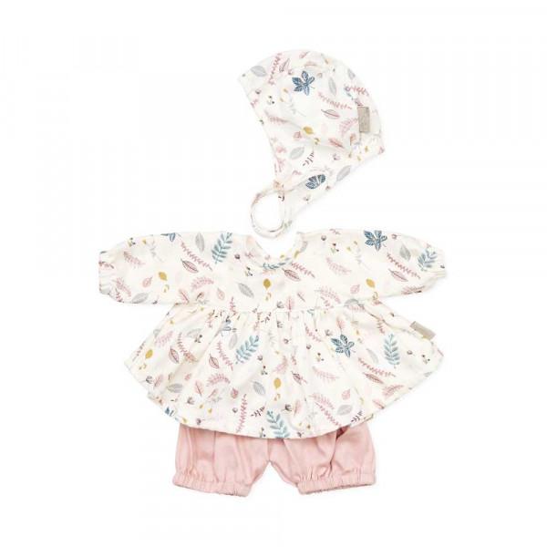 Cam Cam Puppen Bekleidungs-Set Blätter rosa