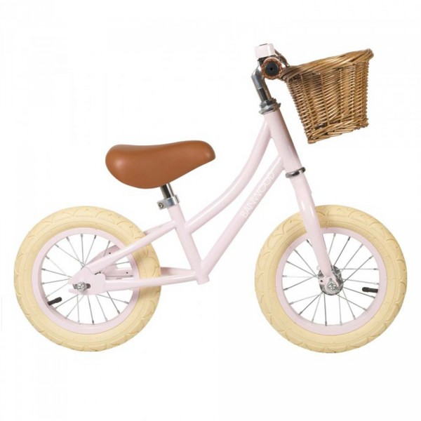 Banwood Laufrad First go rosa