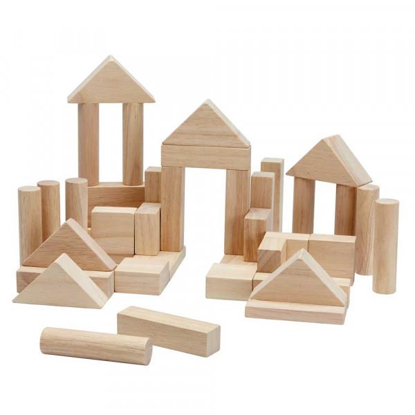 Plan Toys 40 Holzbauklötze natur