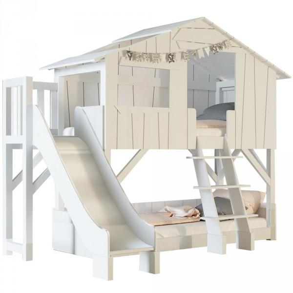 Mathy By Bols Etagenbett Baumhütte mit Rutsche