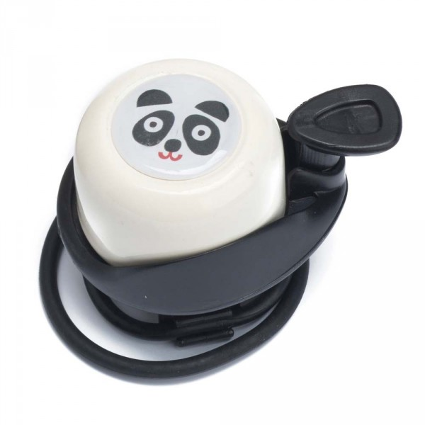 Wishbone Klingel für Laufrad Panda weiss