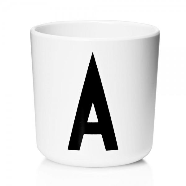 Design Letters AJ Kinder Becher Melamin A