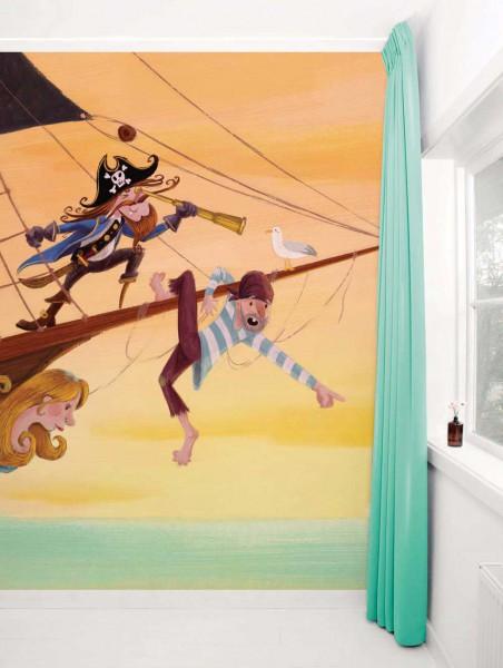 Kek Amsterdam Tapeten Wandbild Piraten