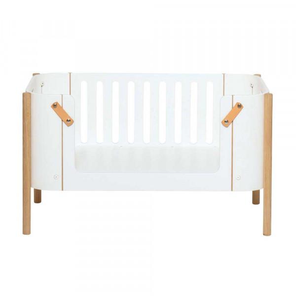 Oliver Furniture Wood Kinderbank weiss mit Eiche