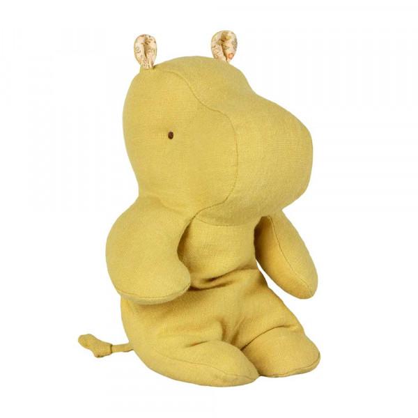 Maileg Stofftier Hippo gelb klein