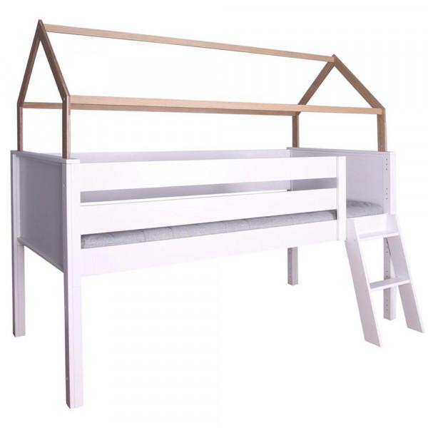 De Breuyn Kasva halbhohes Bett mit Dach