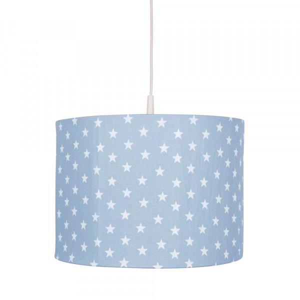 Bink Pendellampe Sterne hellblau