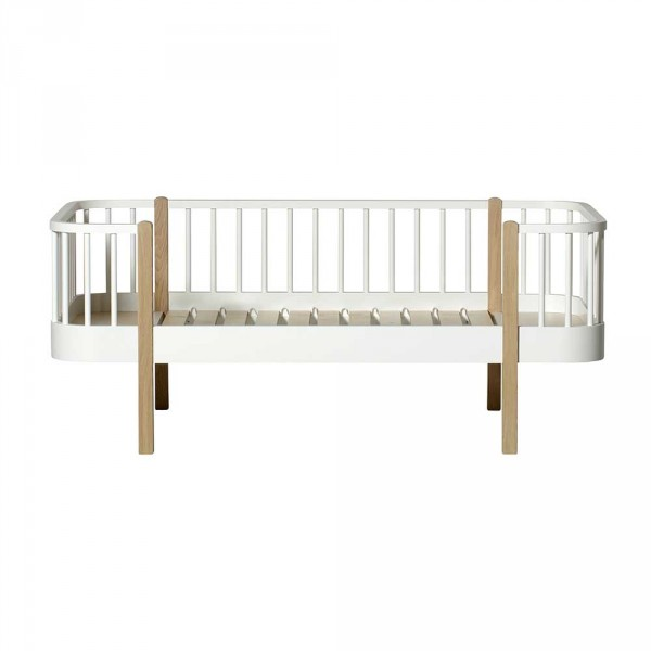 Oliver Furniture Wood Junior-Bettsofa Eiche