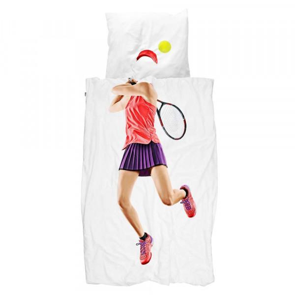 Snurk Bettwäsche Tennisspielerin 135 x 200