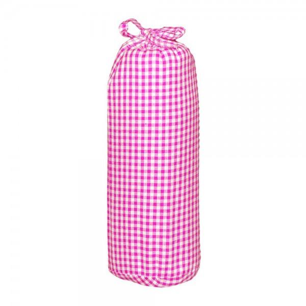 Taftan Spannbettlaken 40 x 80 vichy karo pink
