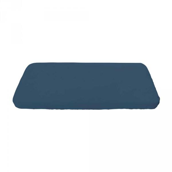 Sebra Jersey Bettlaken königsblau 70 x 160